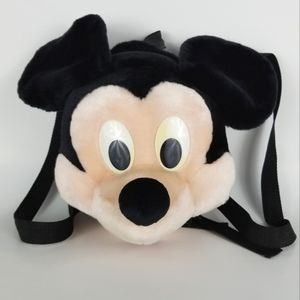 DISNEY | vintage Mickey Mouse kids plush backpack